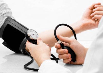 Misurazione della pressione sanguigna